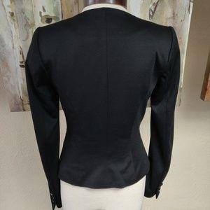 H&M Jackets & Coats - H&M Black, Soft, Blazer Top, Size 6